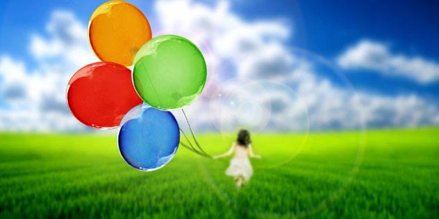 Mädchen mit Luftballons,© iStockPhoto / EmiliaU