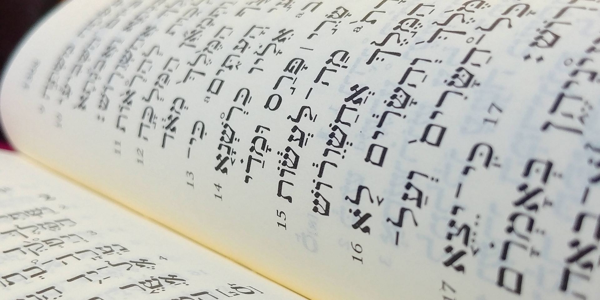 Die Bibel in Hebräischer Schrift