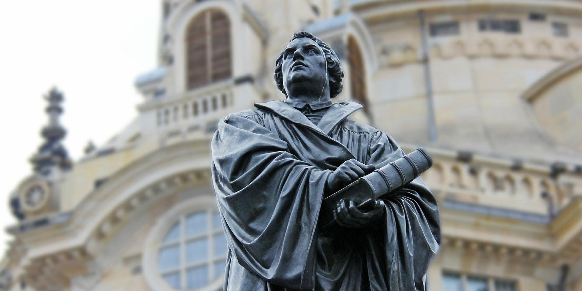 Standbild von Martin Luther
